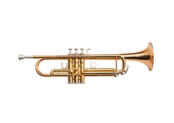 trumpet - instrument muzyczny zdjęcia i obrazy z banku zdjęć