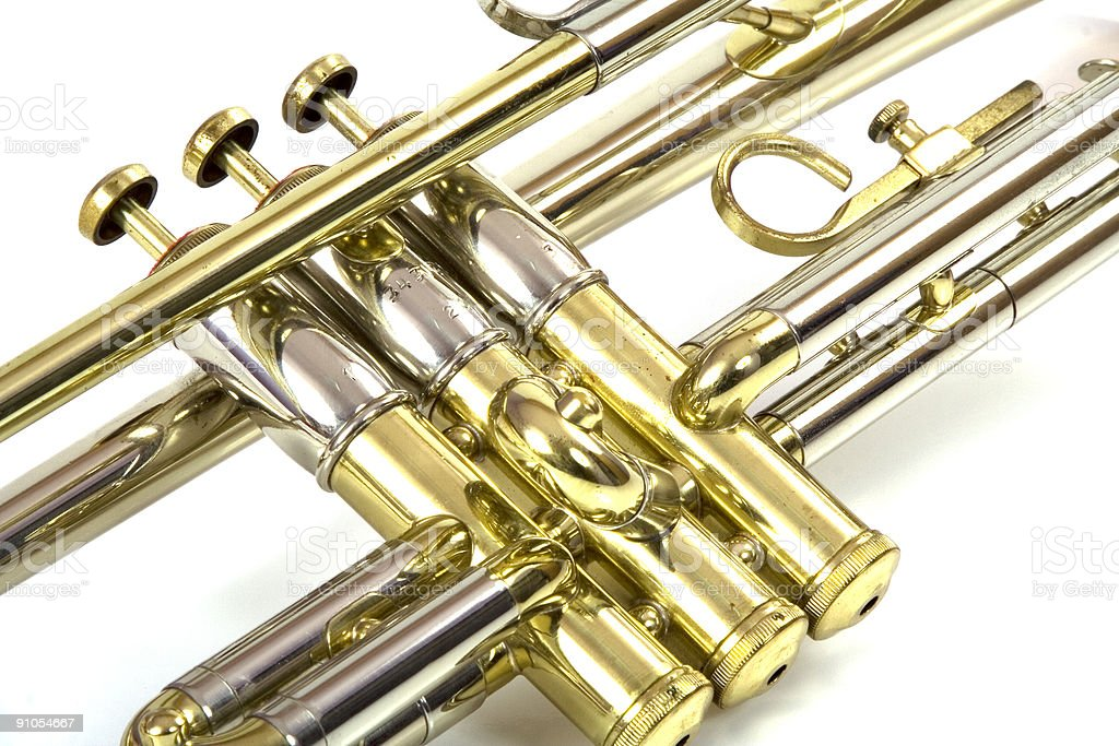Trumpet Valves royalty-free stock photo