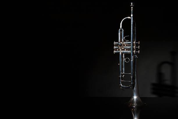 trumpet, wind instrument - 트럼펫 뉴스 사진 이미지