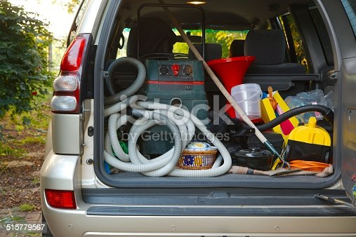 istock Trunk with stuff 515779567