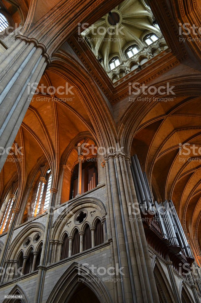 Truro Cathedral. stock photo
