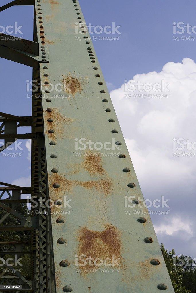 Truss Bridge royalty-free stock photo