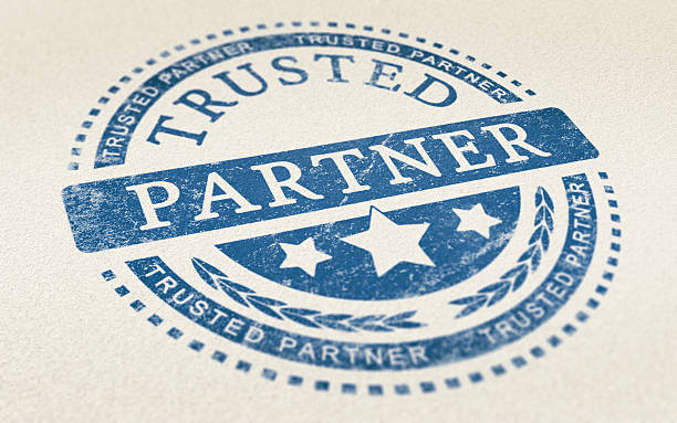 Trust in Business Partnership Background stock photo