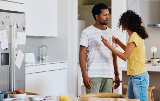 Trust matters so much in a relationship stock photo