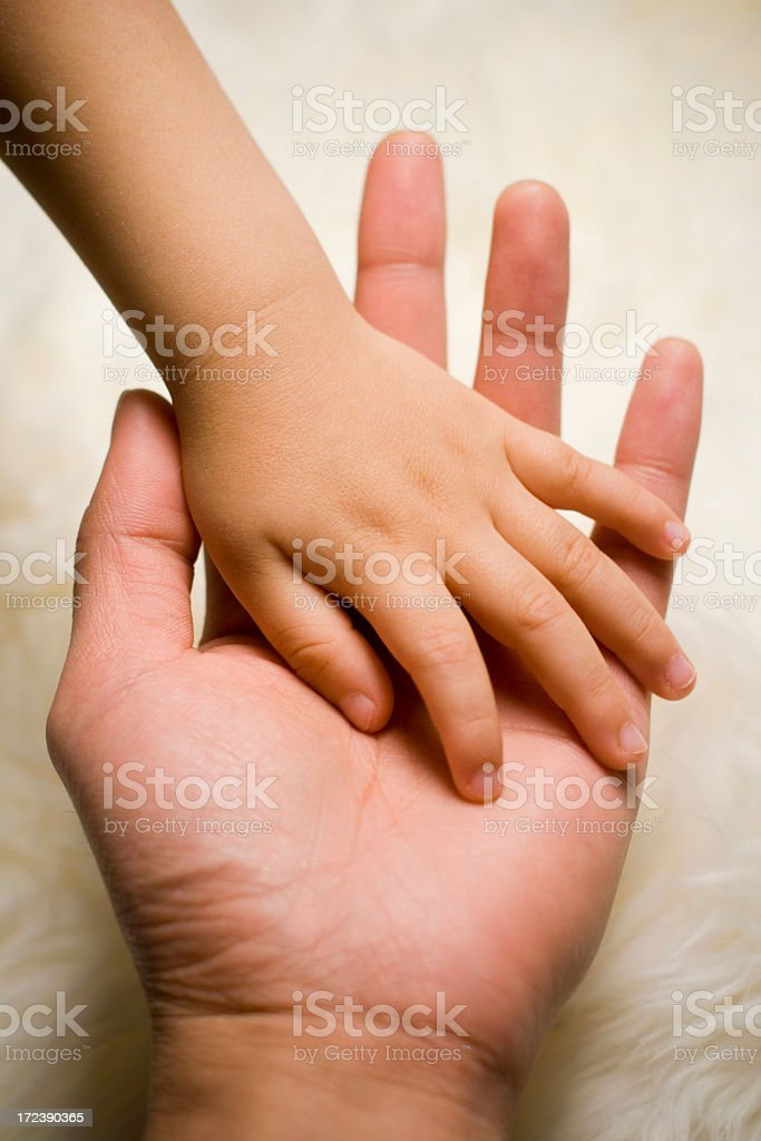Trust Me (Father & Son) royalty-free stock photo