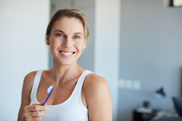 Trust me you'll be happier with zero cavities stock photo