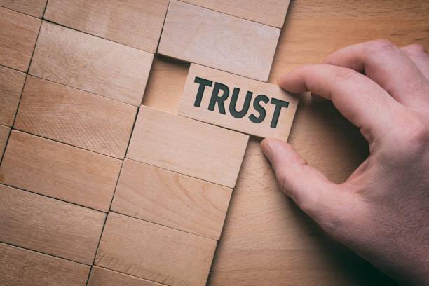 Trust stock photo