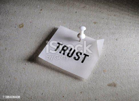 939533958 istock photo Trust Word Tag 1188408408