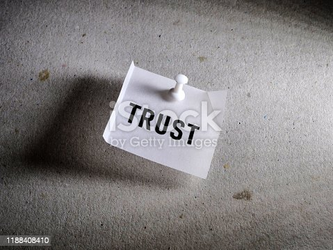 939533958 istock photo Trust Word Tag 1188408410