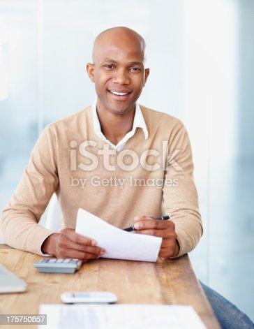 istock Trustworthy accountant 175750857