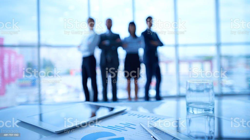 Trustworthy business team stock photo