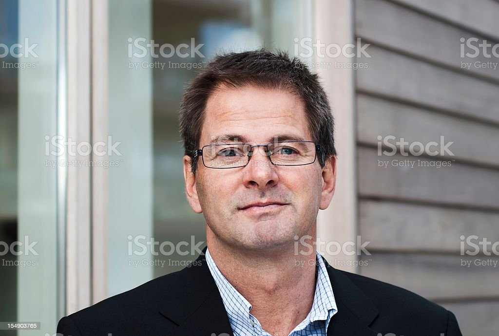 Trustworthy gaze stock photo