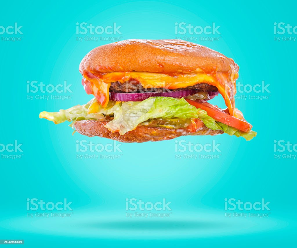Truth behind fast food stock photo