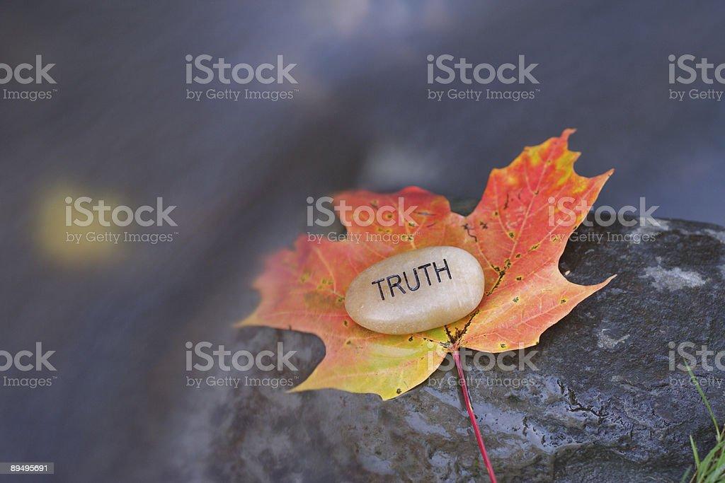 Truth royalty free stockfoto