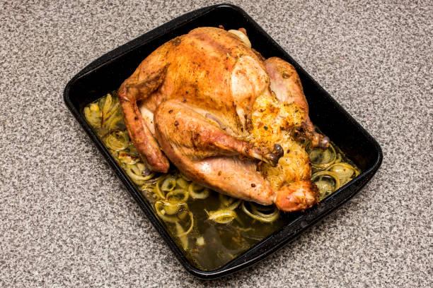 truthahn - rezepte mit hühnerfleisch stock-fotos und bilder