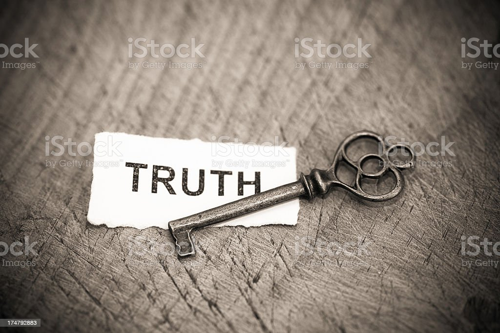 Truth,concept.. royalty-free stock photo
