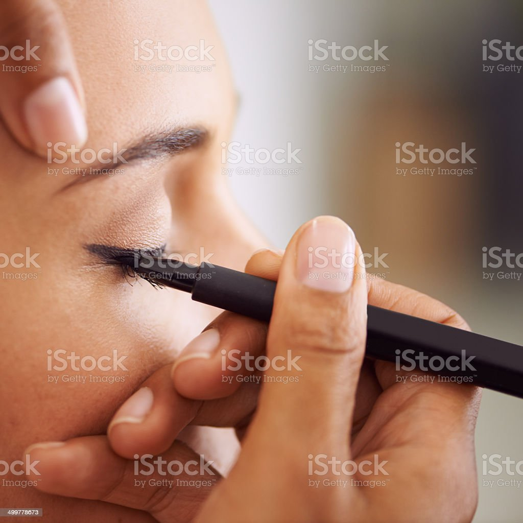 Try not to blink... stock photo