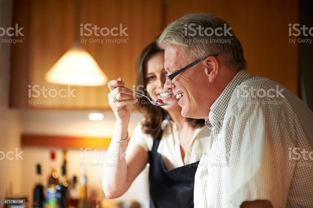 Try this! stock photo