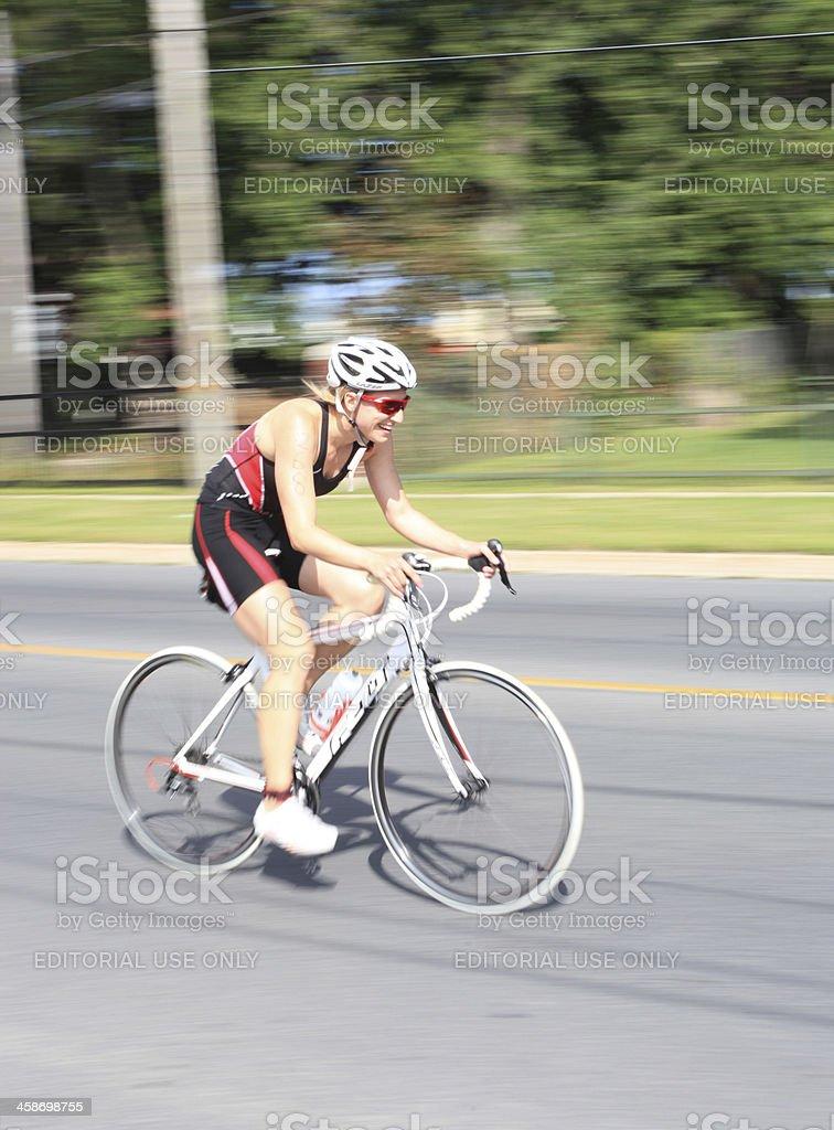 Try-A-Triathlon royalty-free stock photo