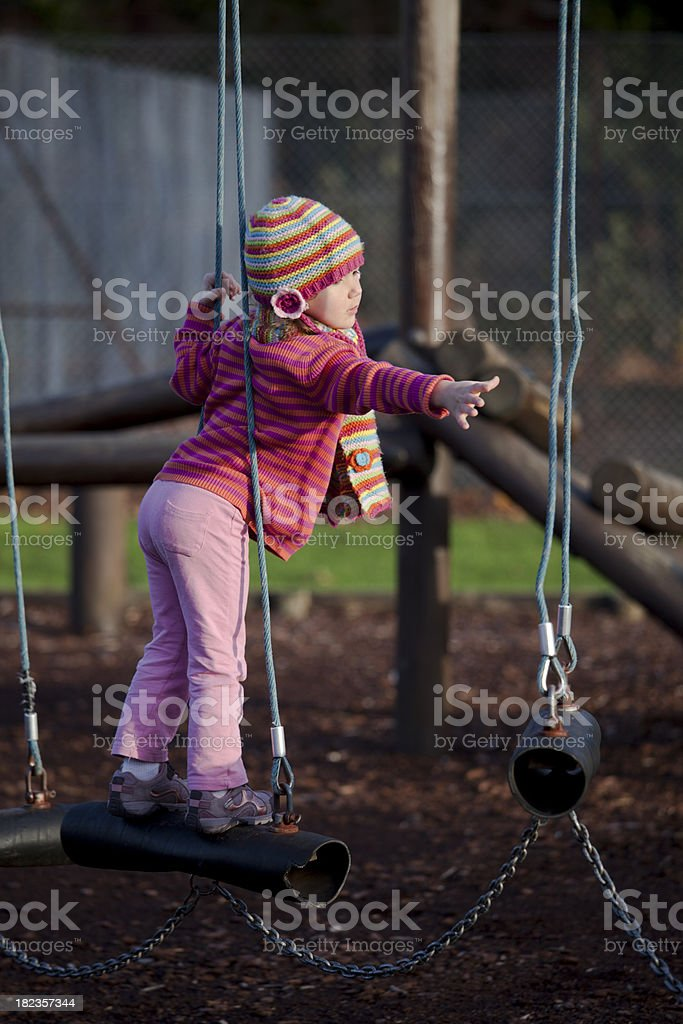 Trying to reach royalty-free stock photo