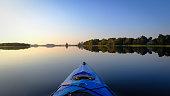 Kayak trip at Tsala Apopka Lake Florida