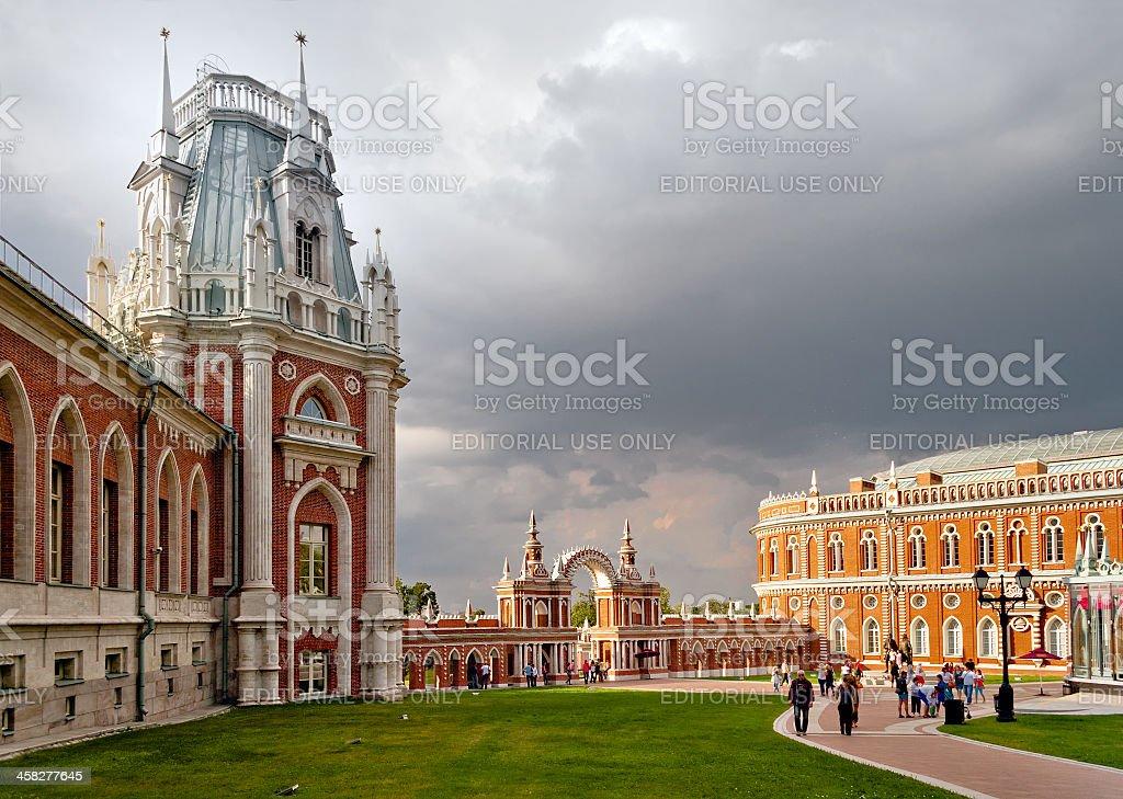 Tsaritsyno royalty-free stock photo