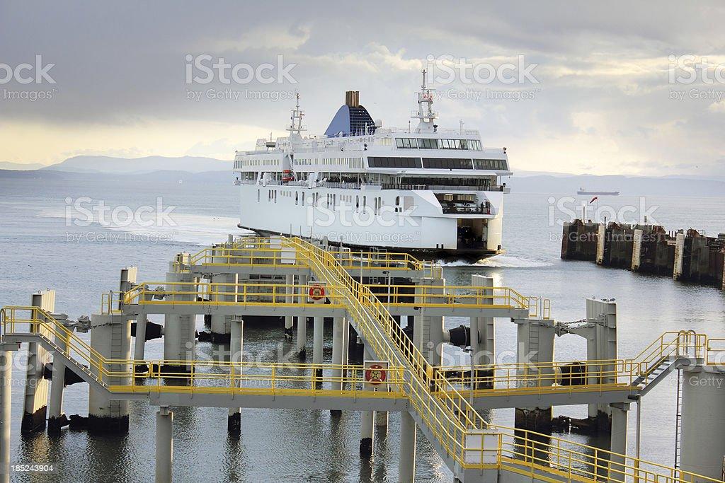 Tsawwassen Ferry Terminal royalty-free stock photo