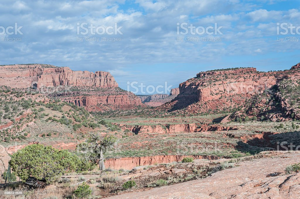 Tsegi Canyon, Arizona foto royalty-free