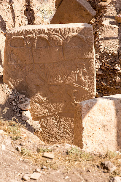 T-Shaped pillars at Gobekli Tepe