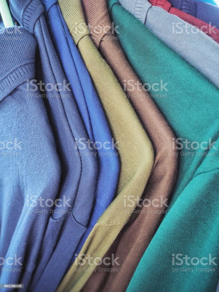 T-shirt colorful 免版稅 stock photo