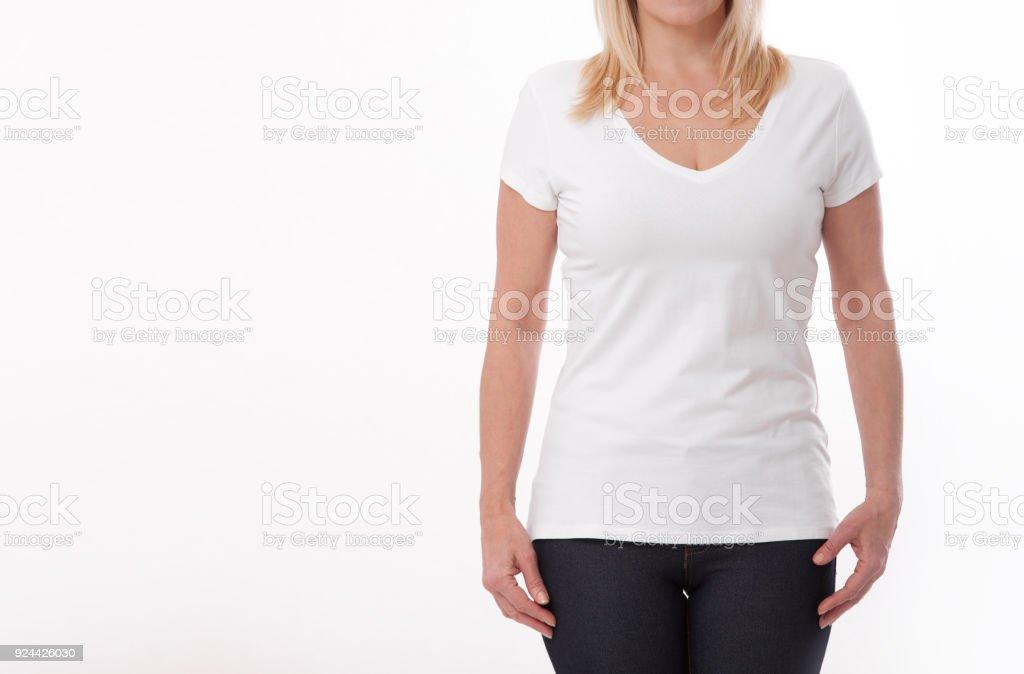 Mujer Personas Diseño En Concepto La De Cerca Fotografía Camiseta q0AtO 8732cade673c