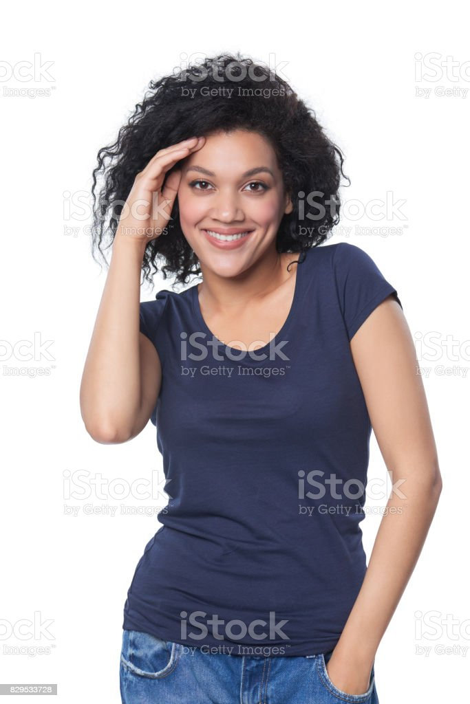 T-shirt design and people concept stock photo