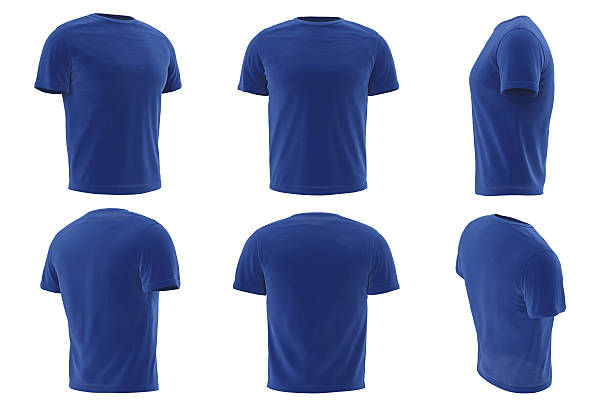 Tshirt mens clothing set collection stock photo