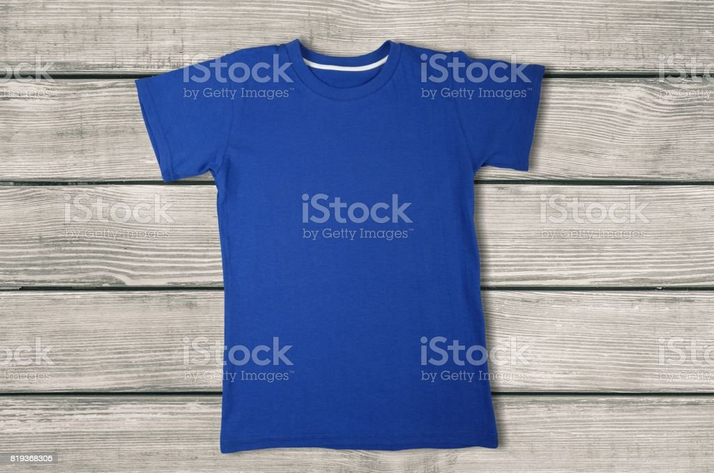 T-shirt. stock photo