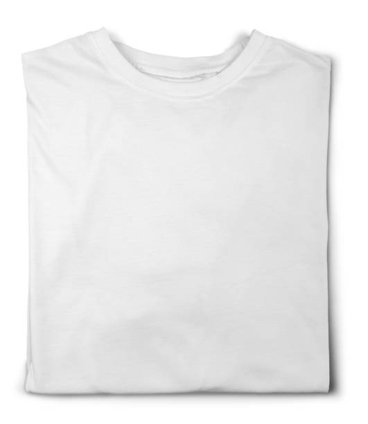 t-shirt. - white tshirt stock photos and pictures