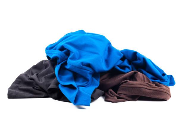 T-shirt Pile stock photo