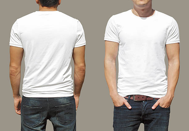 t-shirt template - t shirt stock photos and pictures