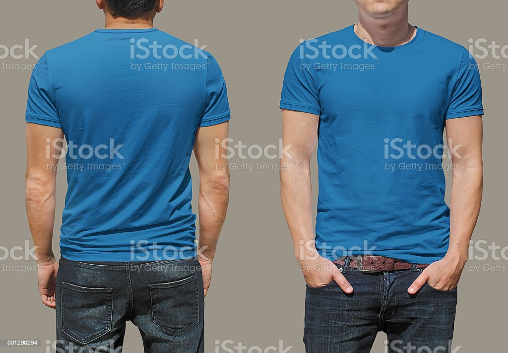 T-shirt template stock photo