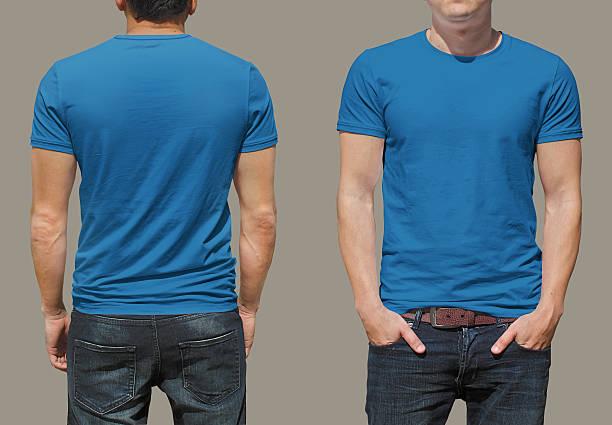 T-shirt template stock photo