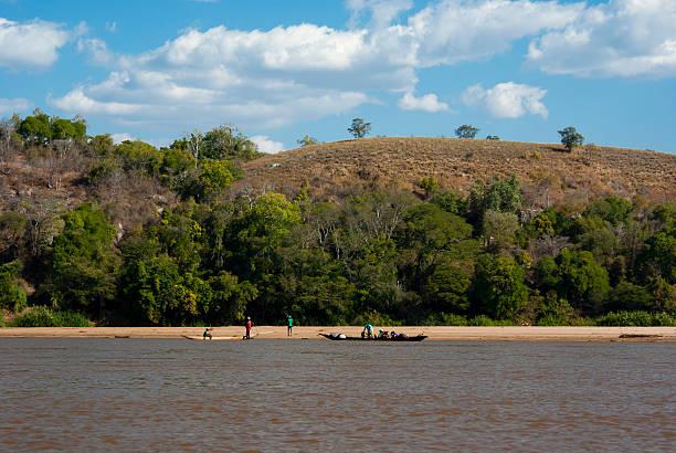 Tsiribihina river stock photo