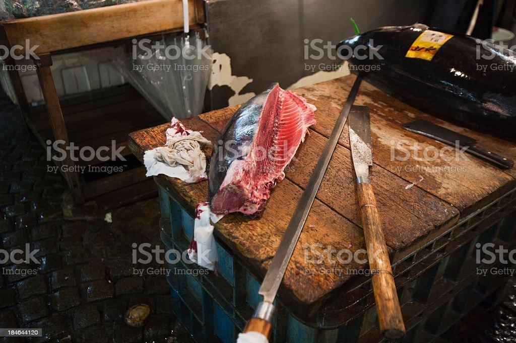 Tsukiji scenery royalty-free stock photo