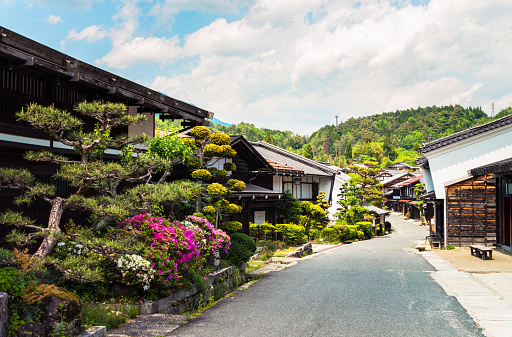 istock Tsumago - an ancient heritage town in Japan 904119306