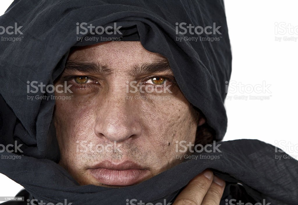Tuareg royalty-free stock photo