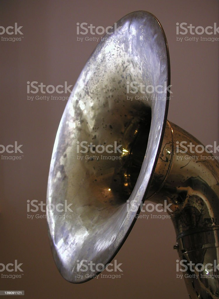 Tuba Bell royalty-free stock photo
