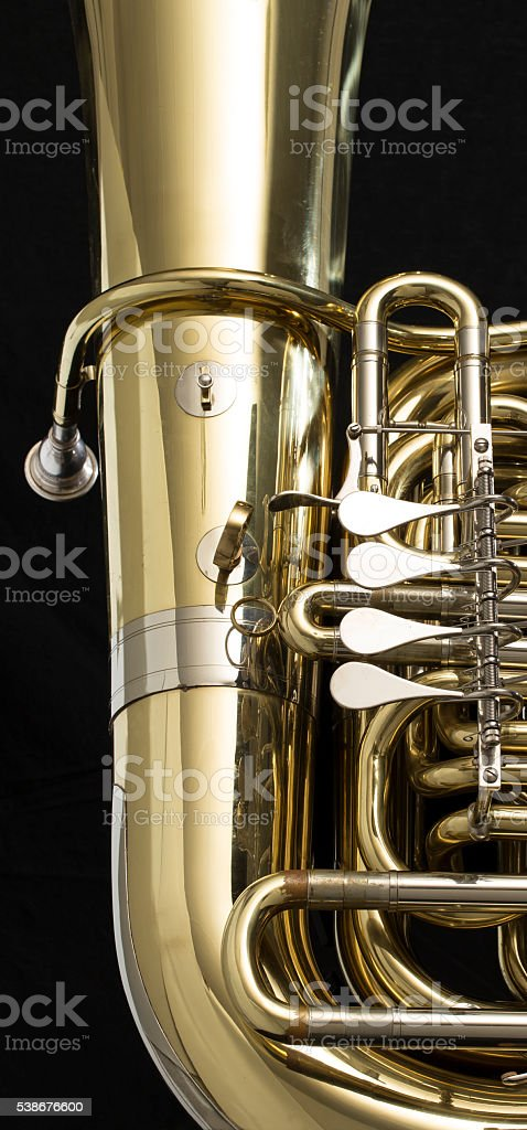 Tuba stock photo