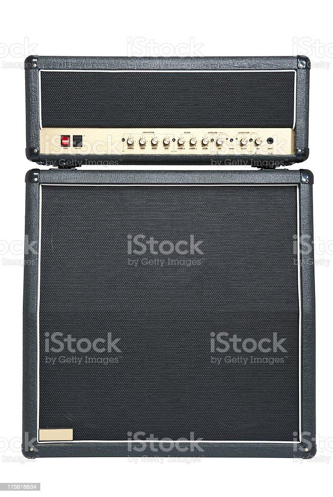 Tube Amplifier Combo stock photo