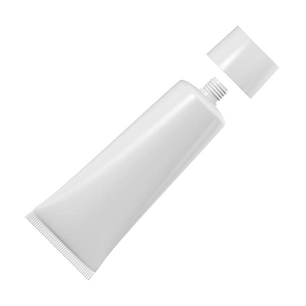 Tube for cream, toothpaste or glue stock photo