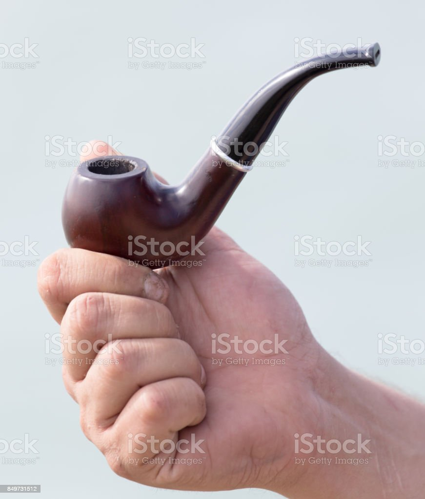 Tube for tobacco stock photo