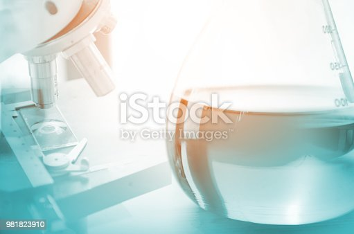 891126112istockphoto tube in labatory test for mediccal 981823910