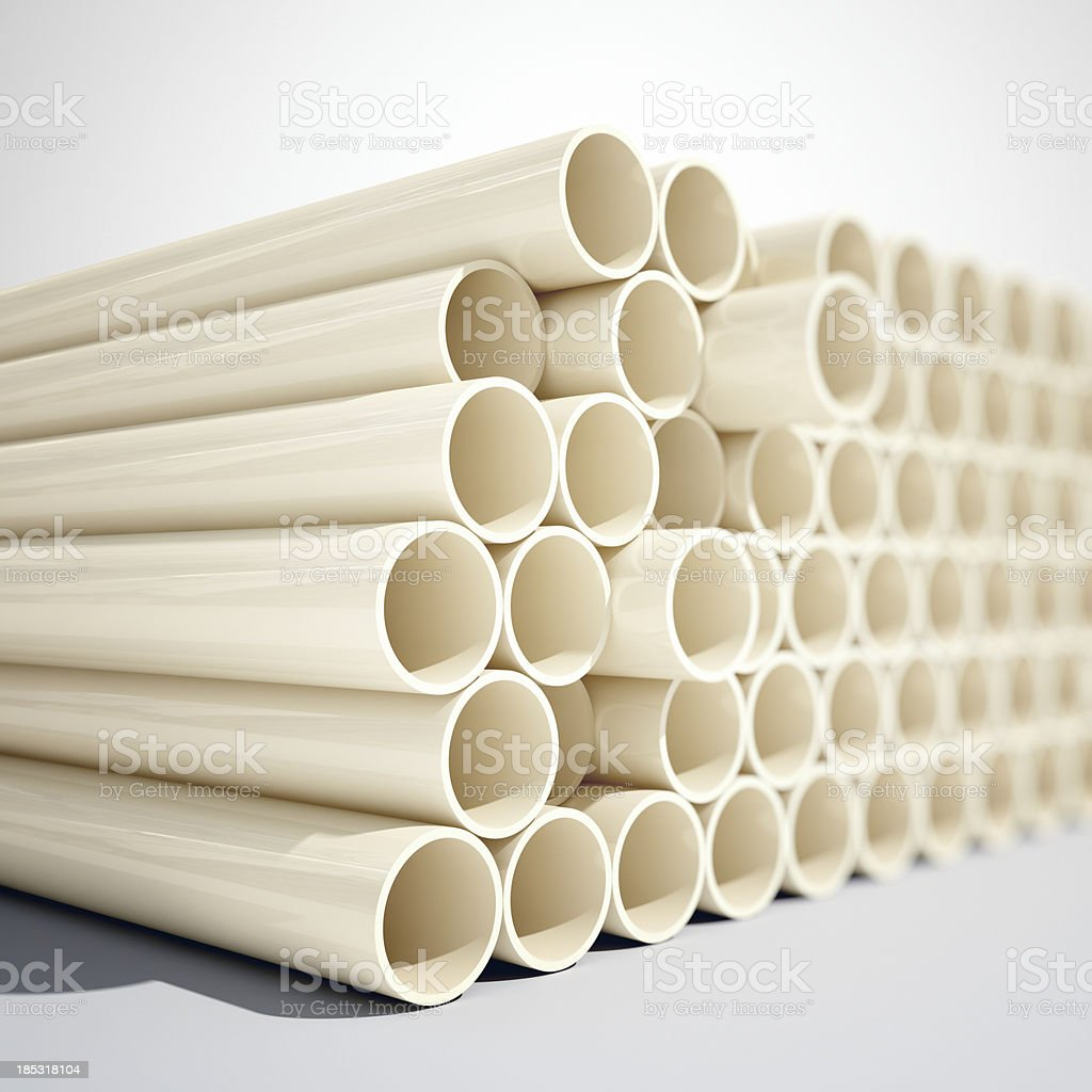 PVC Tube stock photo